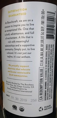 Boochcraft Label