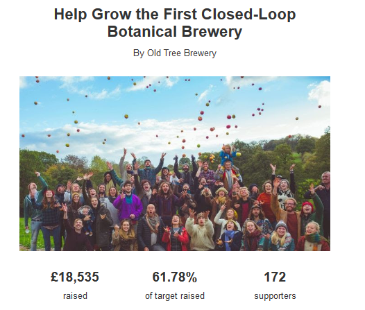 Old Tree Brewery Crowdfunding