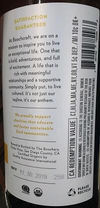 Boochcraft Label